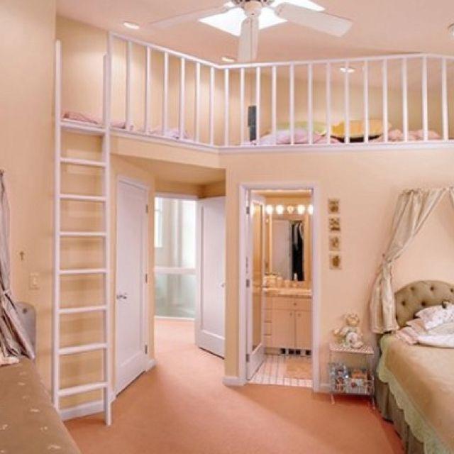 Upstairs Bedroom Loft