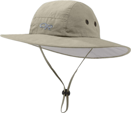 Pewter Large//X-Large Outdoor Research Cozumel Sombrero Hat