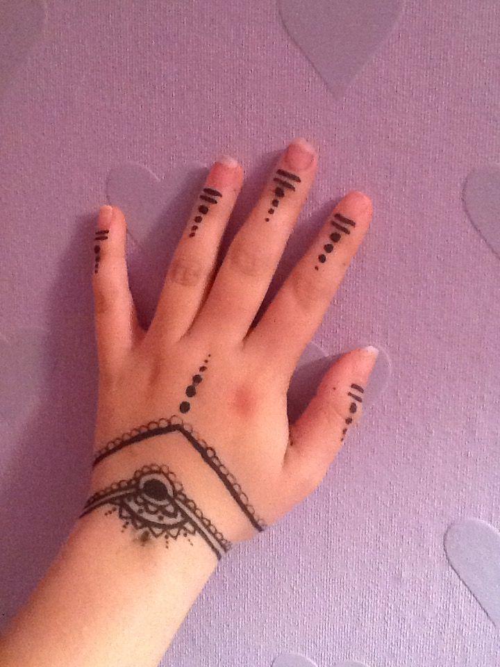 Cute Simple Easy Henna Design Henna Henna Designs Simple