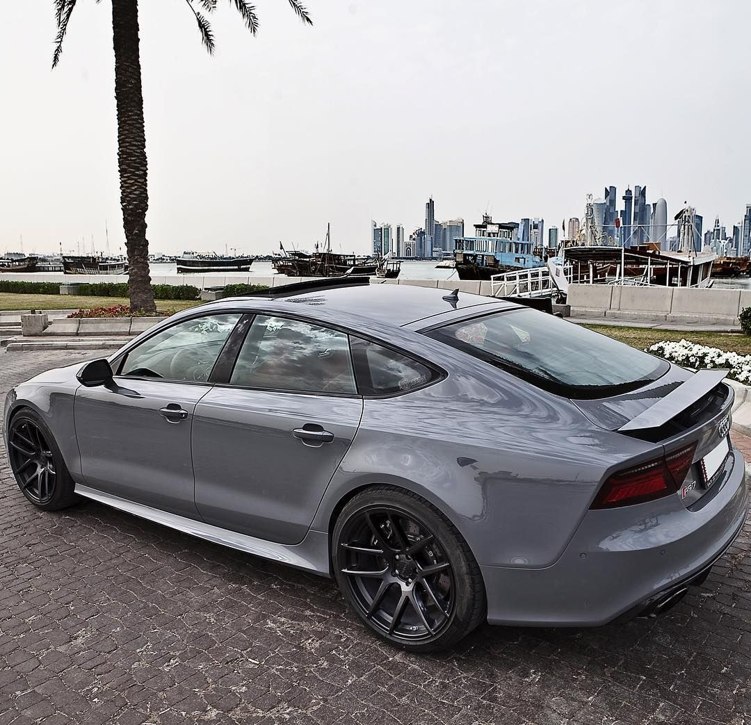 """""""The Lovely And Aggressive Shape Of The Nardo Grey RS7"""