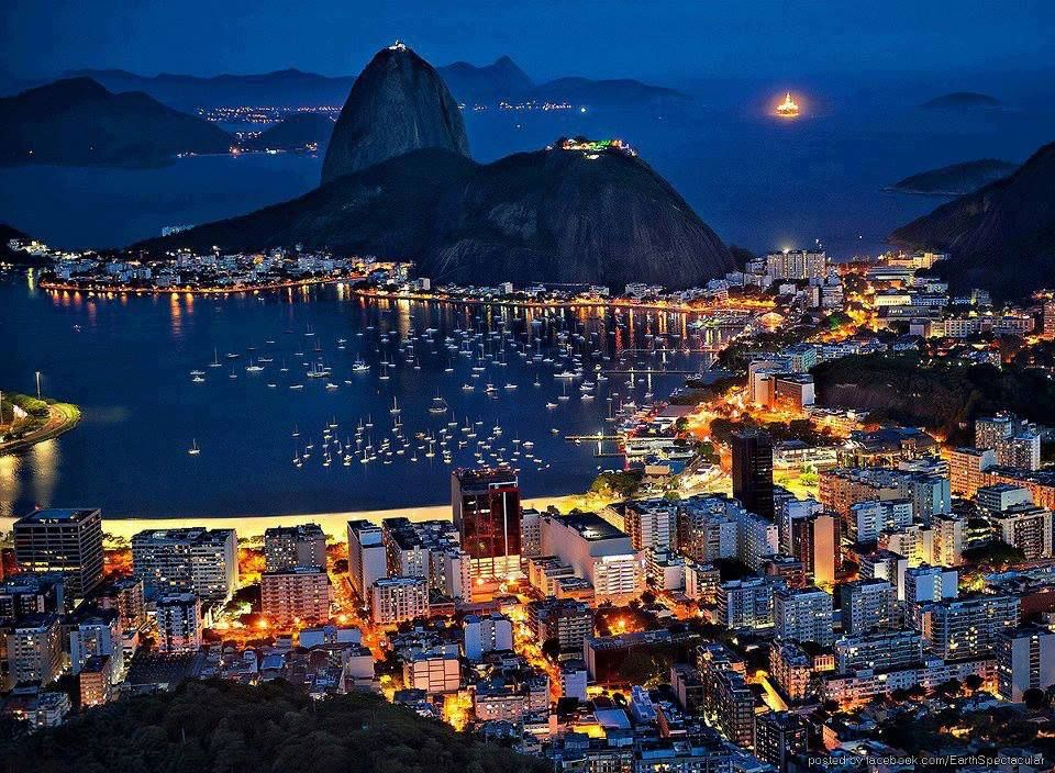 Botafogo Bay, Rio De Janeiro, Brasile