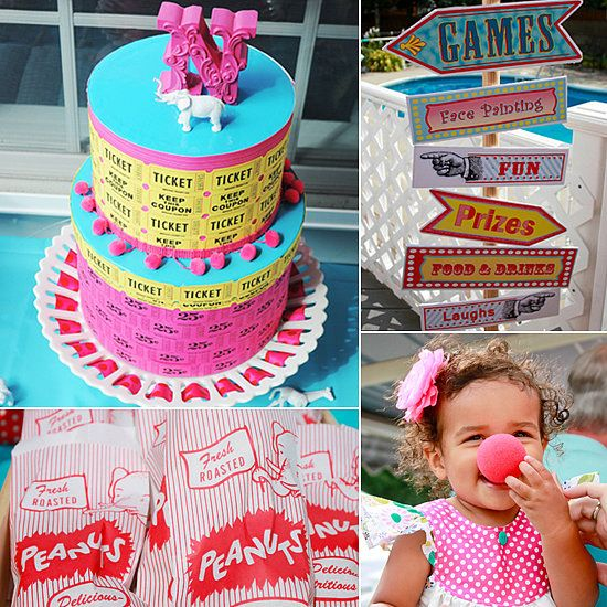 Its Party Time 57 Creative First Birthday Ideas A Colorful Summer Circus