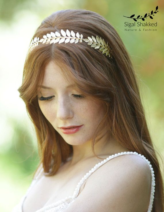 Gold leaf Headband 58595f8a5e5