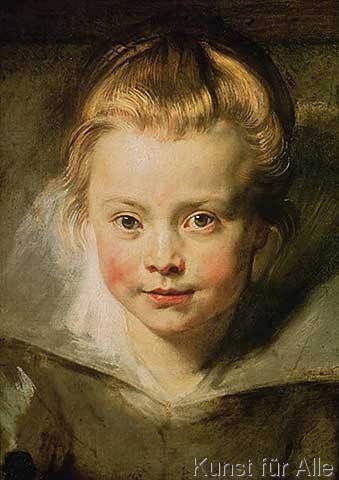 Peter Paul Rubens - Clara Serena, c.1616
