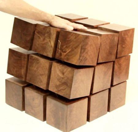 levitating furniture. tensile table floating wood furniture levitates via magnets levitating