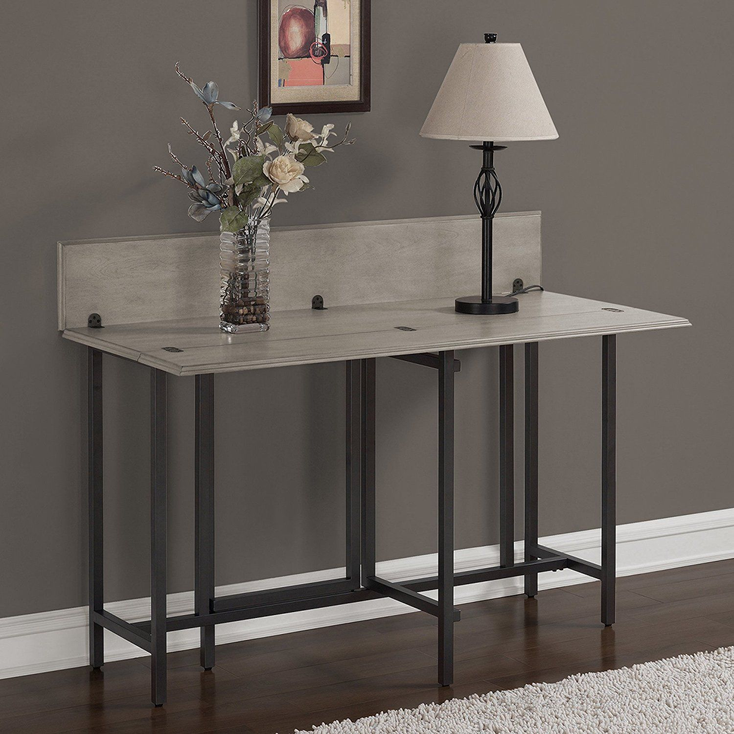 15 Small Dining Room Table Ideas Tips: Convertible Dining Table Wood Contemporary