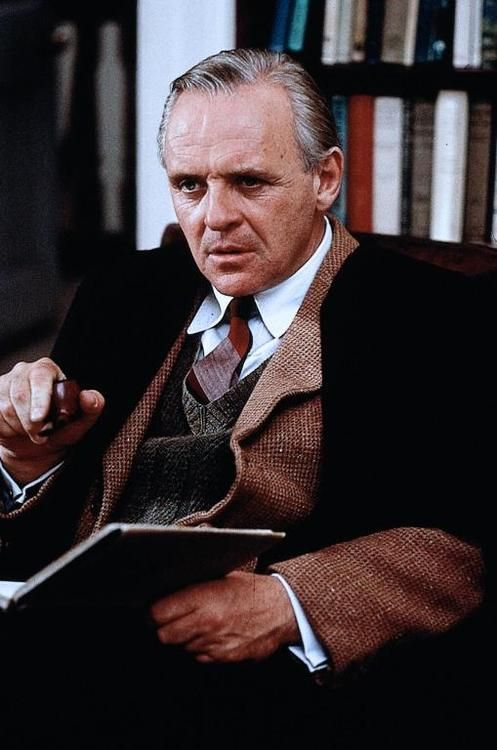 Anthony Hopkins as C.S. Lewis