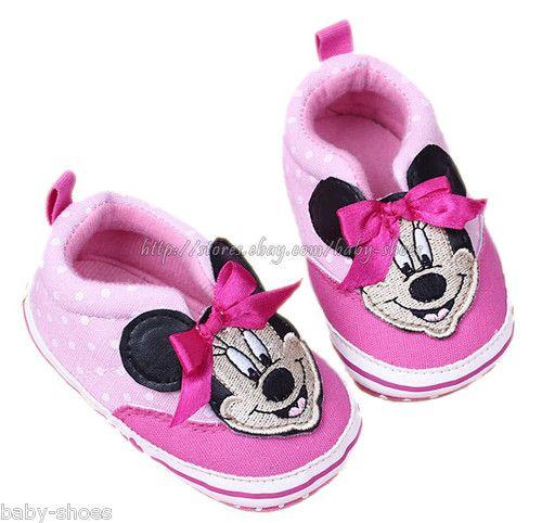 Baby Girls' Minnie Mouse Polka Dot Soft