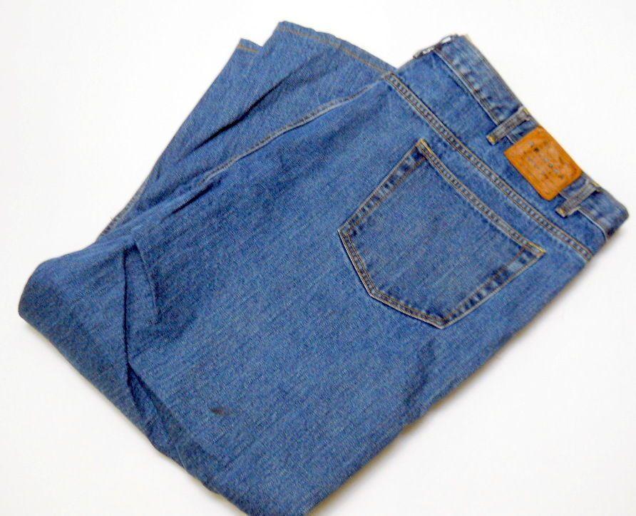 Arizona jean co mens blue jeans 50 x 28 5 pocket zipper