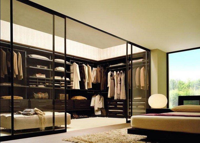 Dormitorios con vestidor y baño 50 opciones de diseño ...