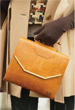 Ethical Street Style: Clutch by Cobra Society, which employs villages of women in Morocco's Atlas Mountains.