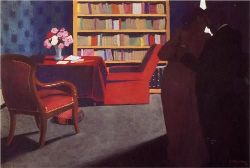 Private Conversation - Felix Vallotton