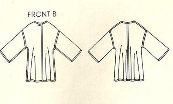 Vogue 1213 Vintage Designer Sewing Pattern by studioGpatterns