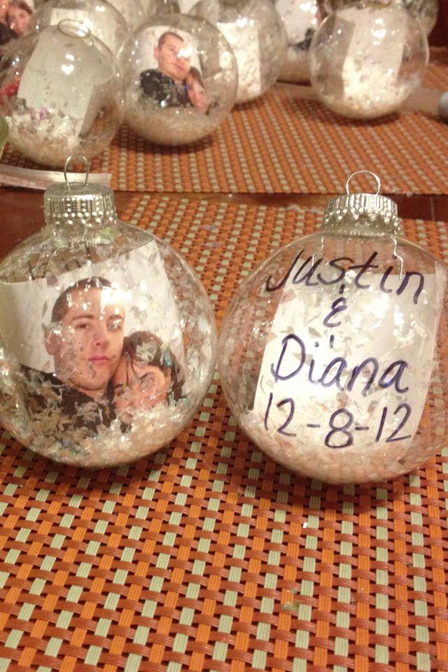 Easy DIY wedding ornaments wedding favors For