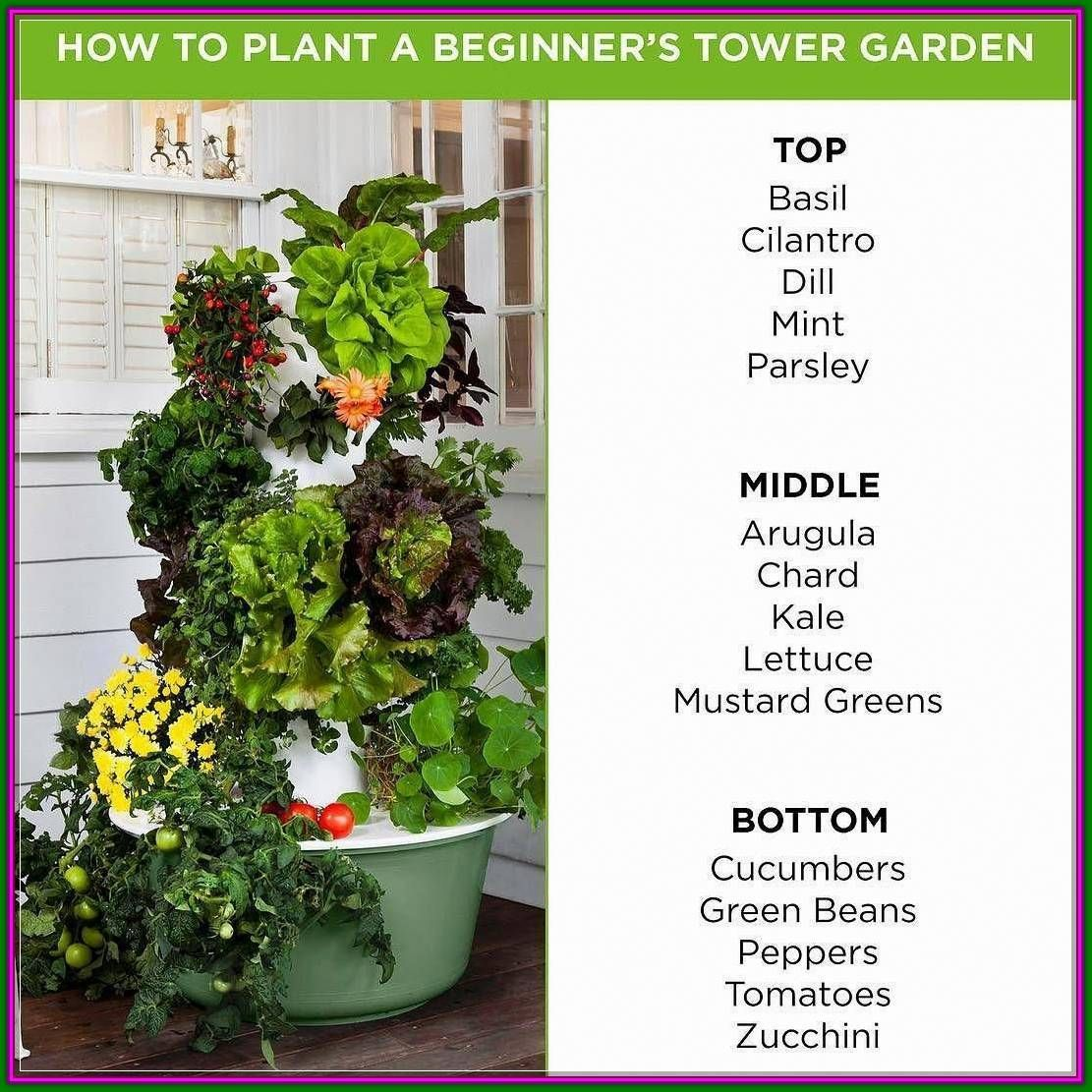 Indoor Garden For Beginners Create A Focal Point In Your Garden With A Unique Plant More Tips Can Be Found By Cl In 2020 Juice Plus Tower Garden Tower Garden Plants