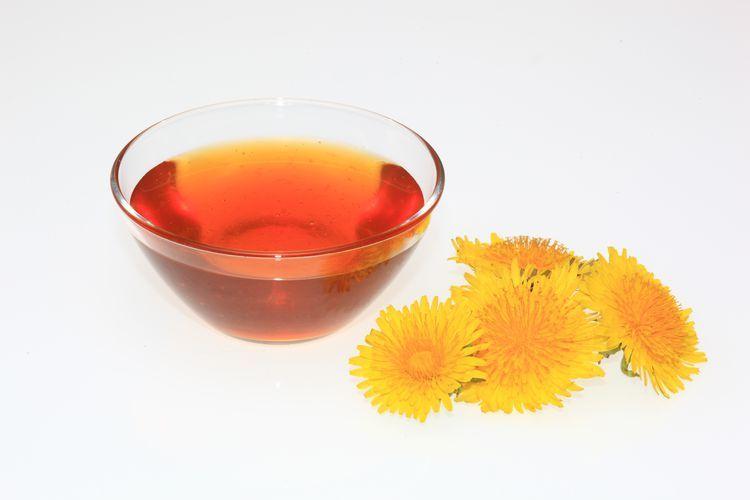 Dandelion Honey From Flowers Recipe Honey Recipes Dandelion Honey