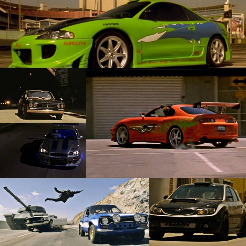 Fast N' Furious Paul Walker's Cars