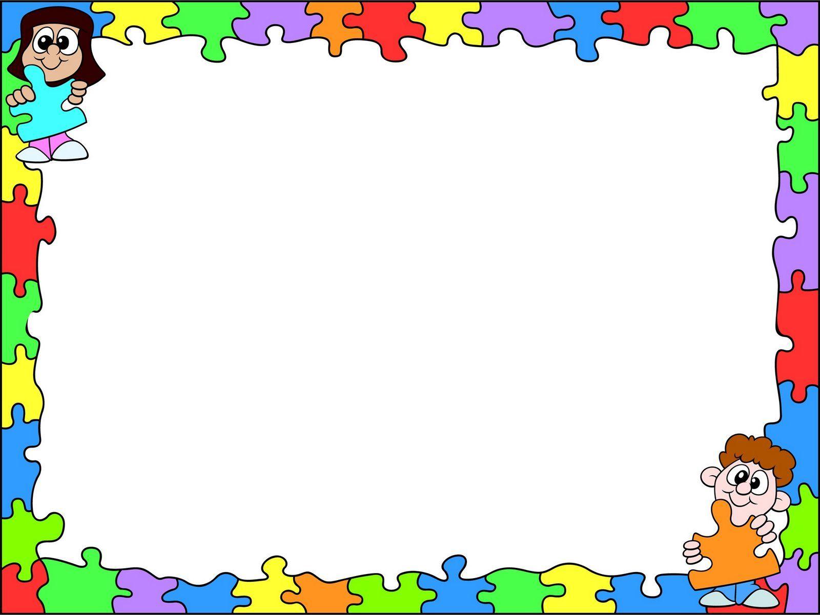 Resultado de imagen para borde de pagina escolar   h   Pinterest ...