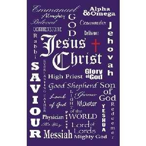 Banner-Jesus Names (2' x 3') (Indoor)