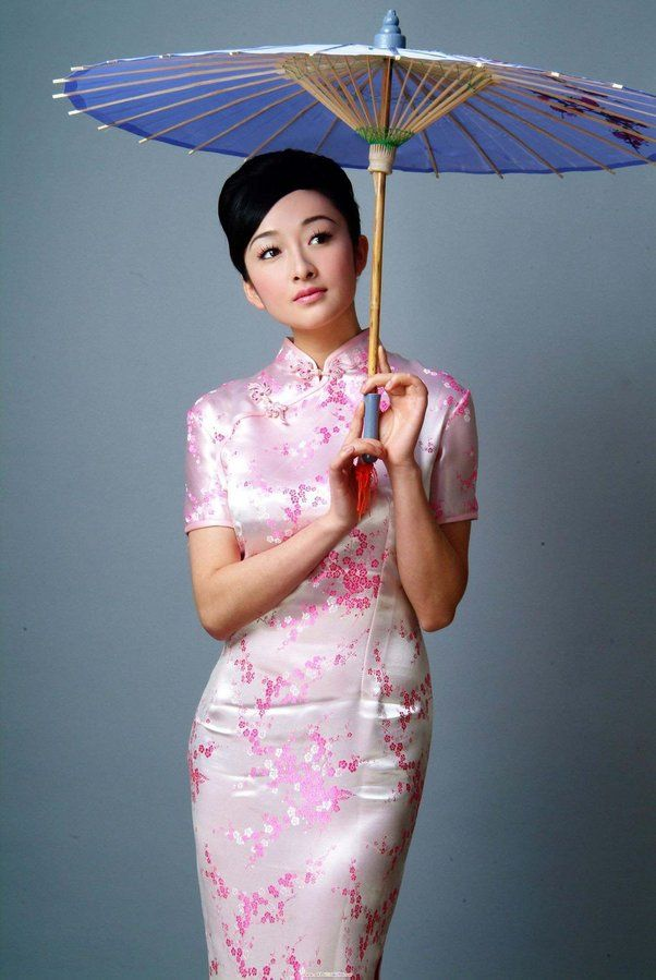 7b8529afb Beautiful Chinese Women, Chinese Clothing, Chinese Dresses, Chinese Silk  Dress, Traditional
