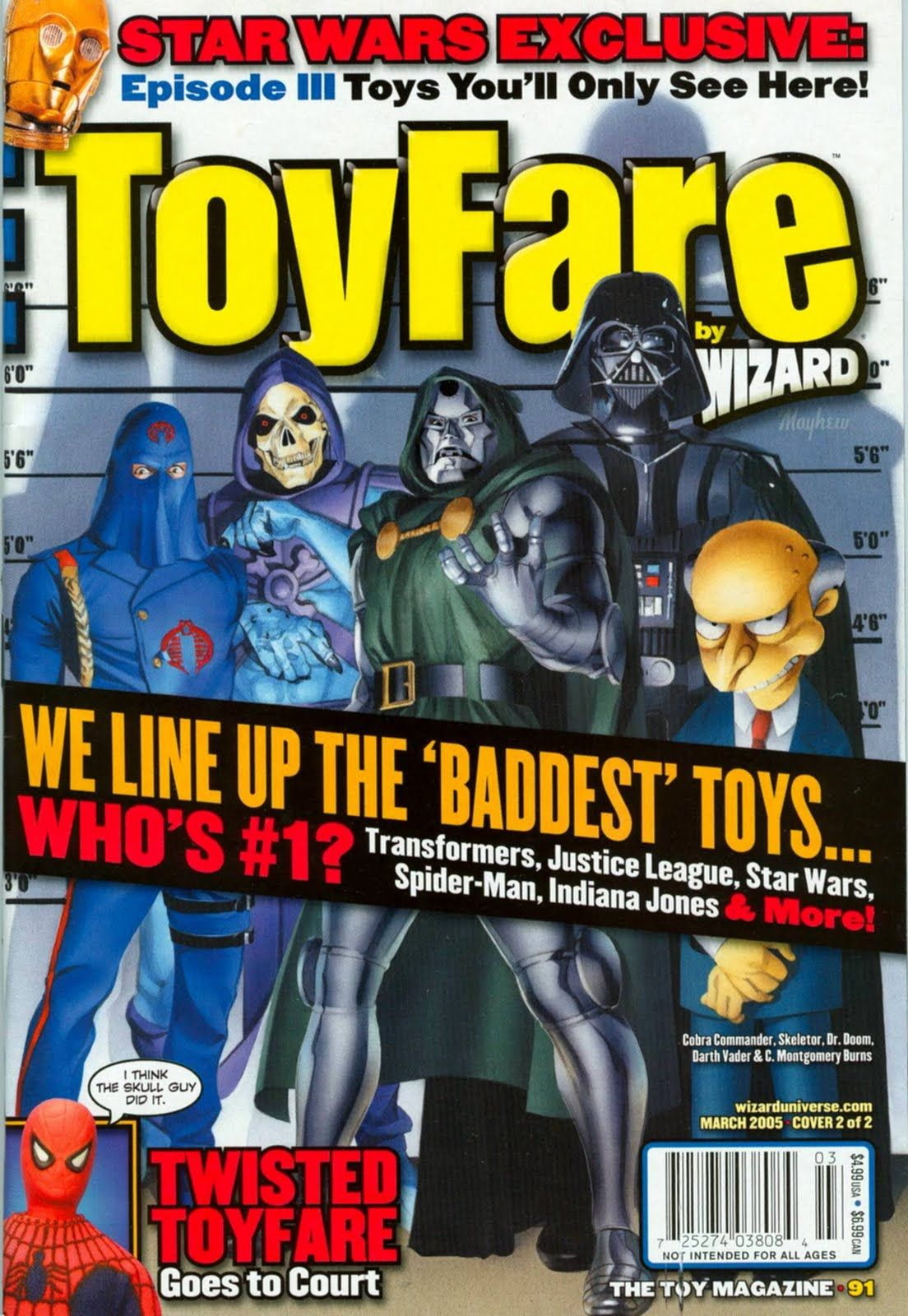 Old magazines cover