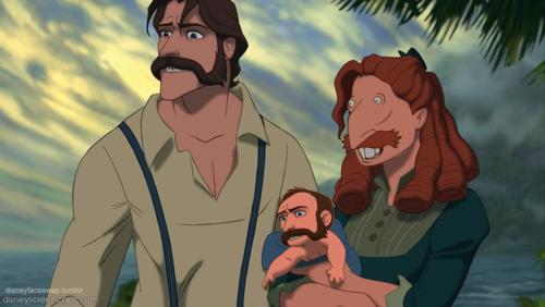 Thornberry Strikes Again Disney Face Swaps Tarzan Disney Disney Face Characters