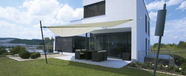 Relativ Markisen/Sonnensegel   Außenanlage   Pinterest   Sonnensegel  RS12