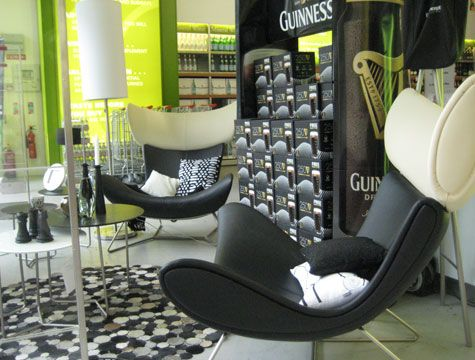 boconcept imola chairs made for guiness design. Black Bedroom Furniture Sets. Home Design Ideas
