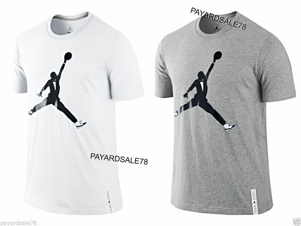 e6d2e07f7ade RARE NIKE JORDAN T-SHIRT AJXI BLACK TIE TUX TUXEDO RETRO ll GRAY OR BLACK  WHITE  NIKE  GraphicTee