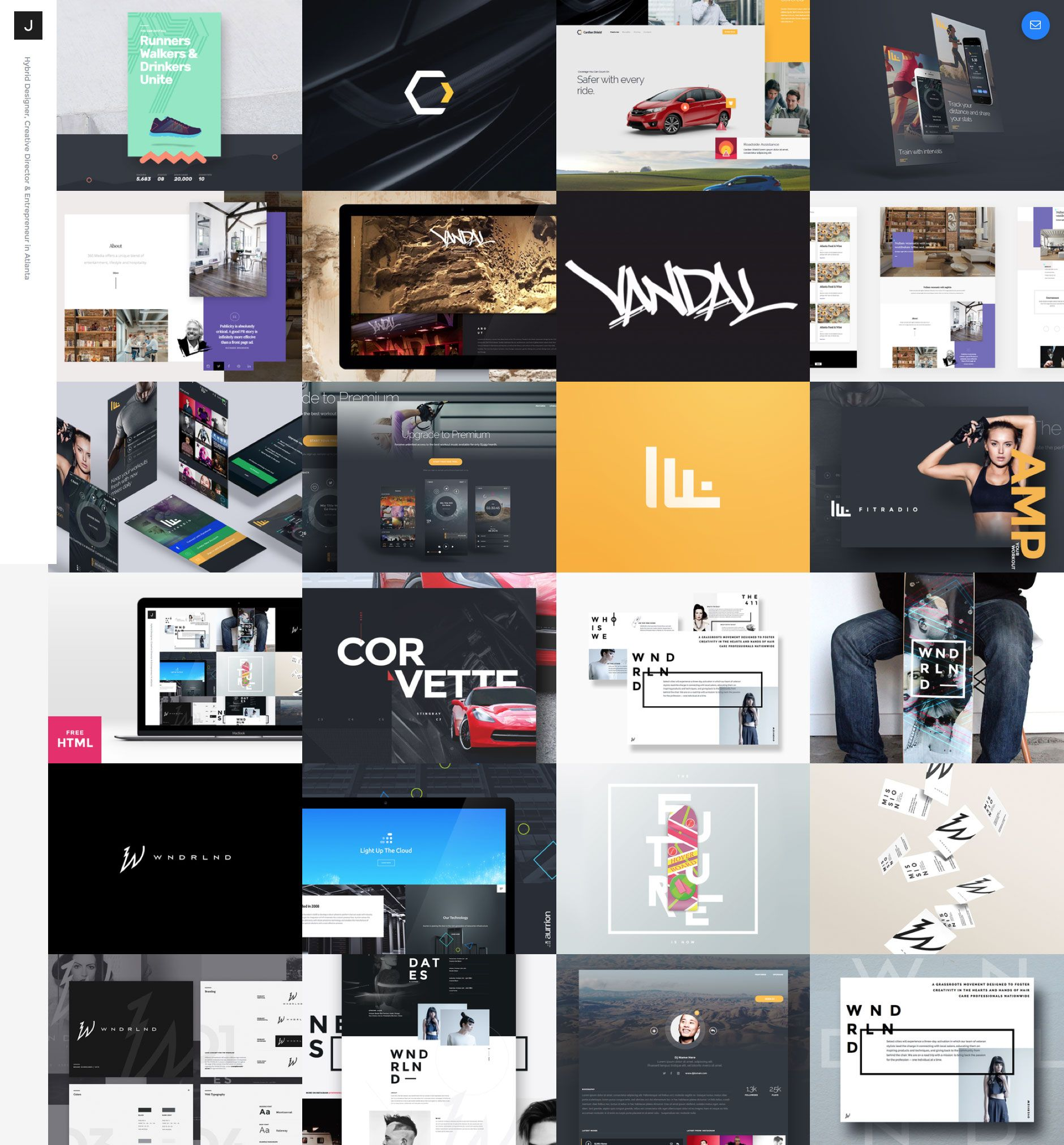 Dribbble Feed Portfolio is a free responsive HTML5 one page website