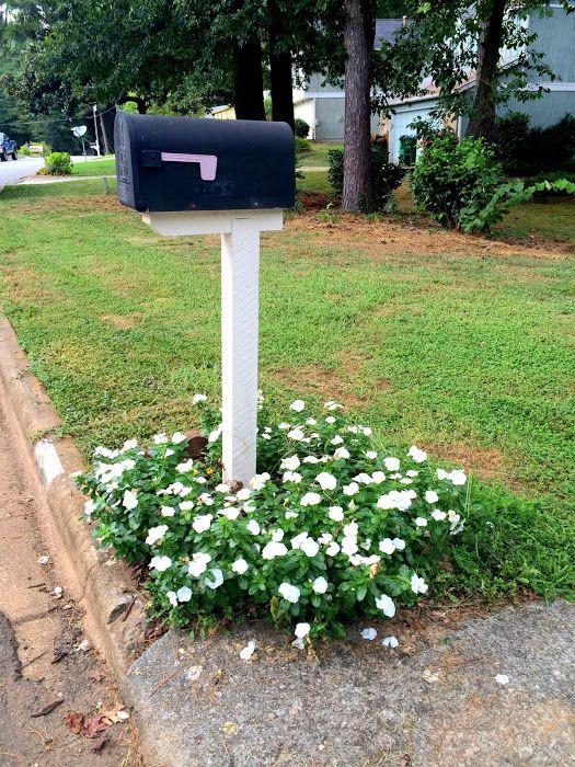flowers frankenstein mailbox