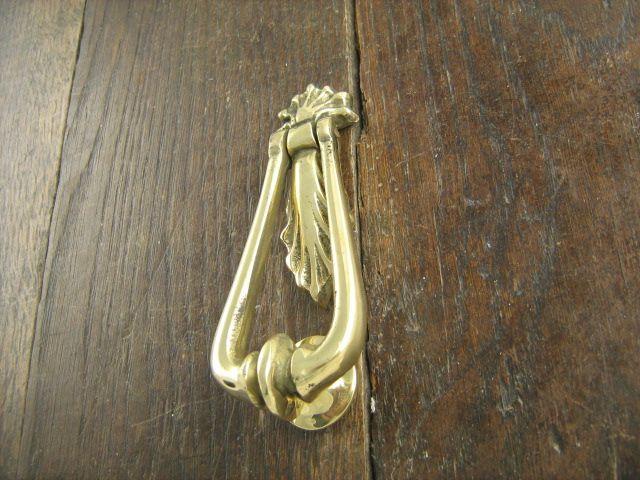 Small Brass Loop Door Knocker