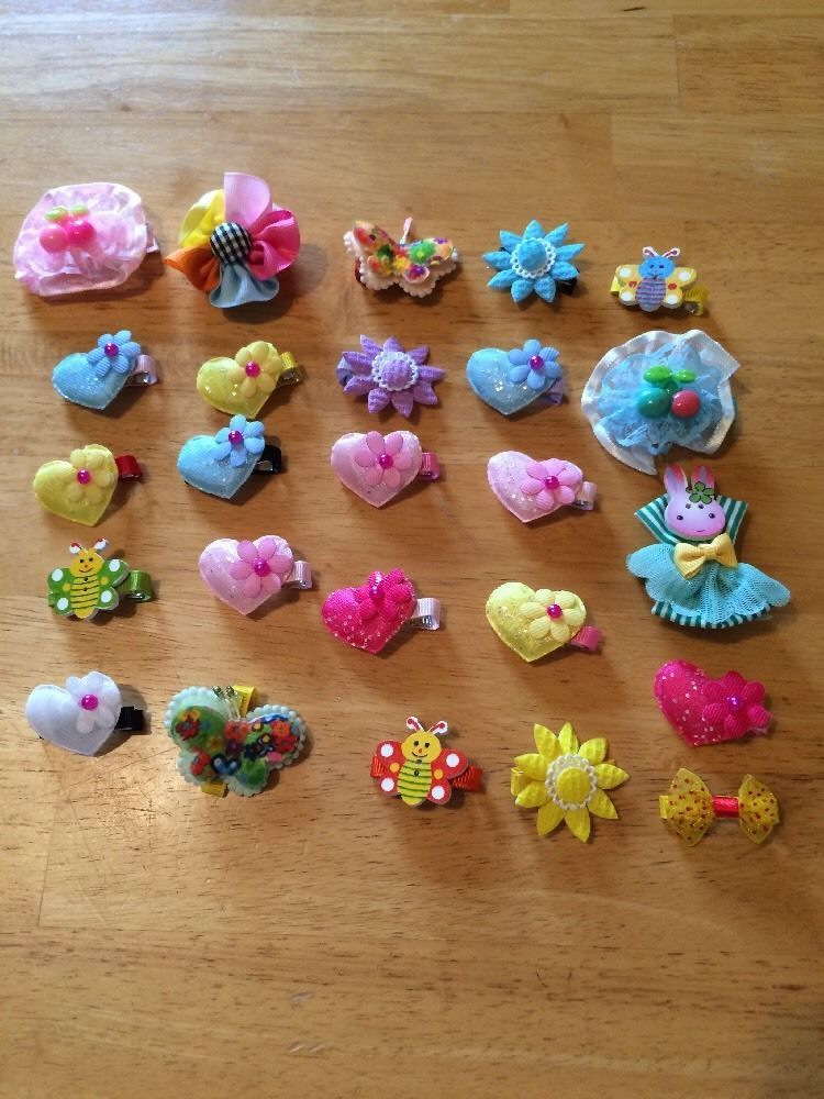 Wholesale Handmade 25 Hair Pieces Lot 10 #Handmade