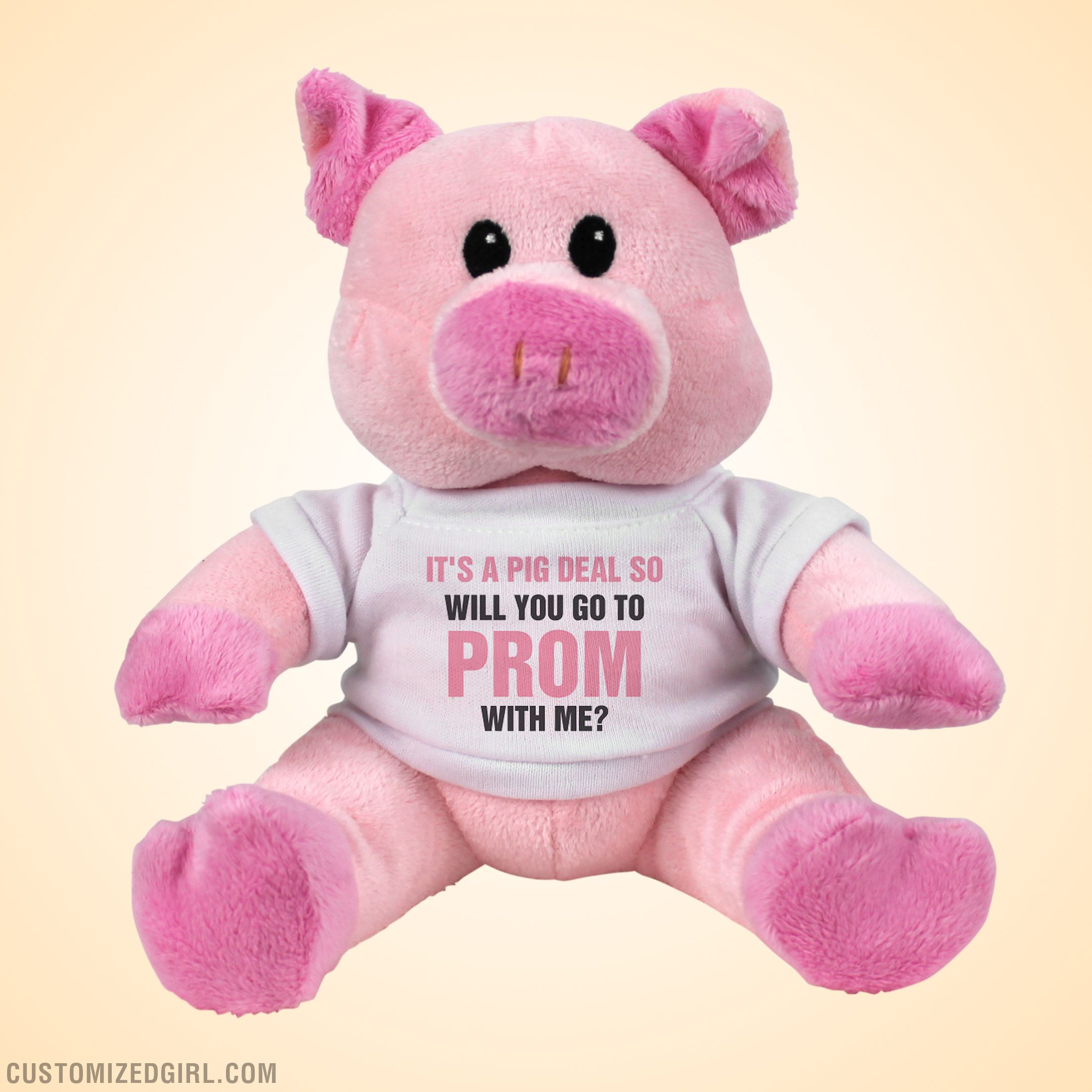 cute promposal pig ask her prom pinterest promposal customized