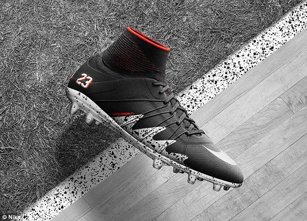 The Nike Jordan collaboration football boot will be available to purchase  on Nike.com for . c5b96c73f