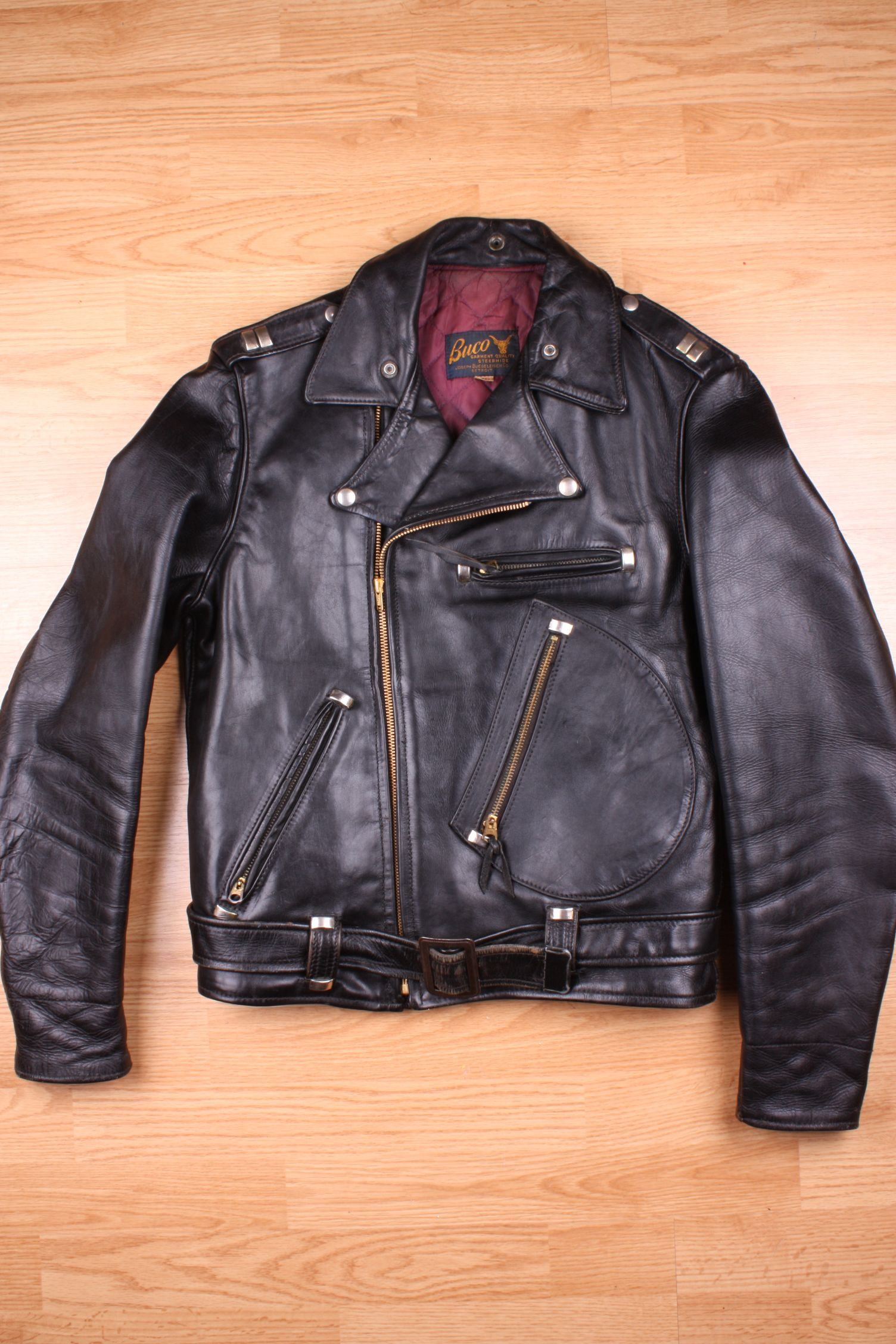 d80c8ed82 Buco Leather Jacket model J-82 WOW ITS AMAZING! | Old Biker Leathers ...