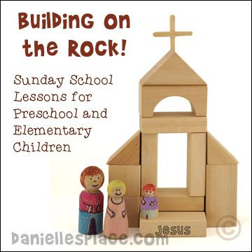 the rock academy preschool building on the rock bible lesson series for preschool and 993