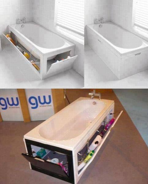 Manque de place dans la salle de bain?
