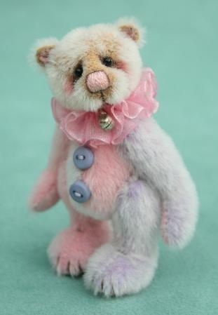 artist teddy bears, pipkins bears, teddy bear gallery, Jane Mogford