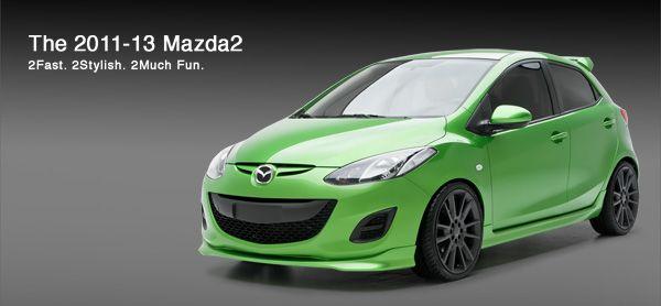 3dcarbon Body Kit For The Mazda2 Mazda 2 Sport Mazda 2 Mazda