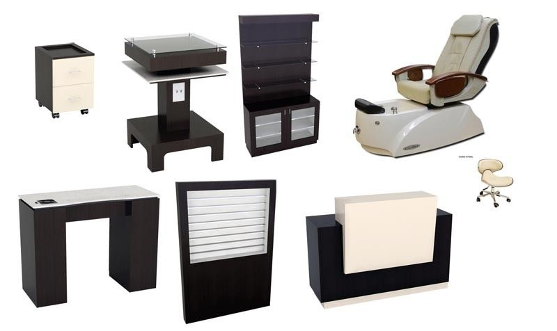 Cleo RMX Pedicure Chair / LB Furniture Package | ♡salon ...