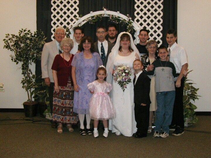 Kristi's wedding