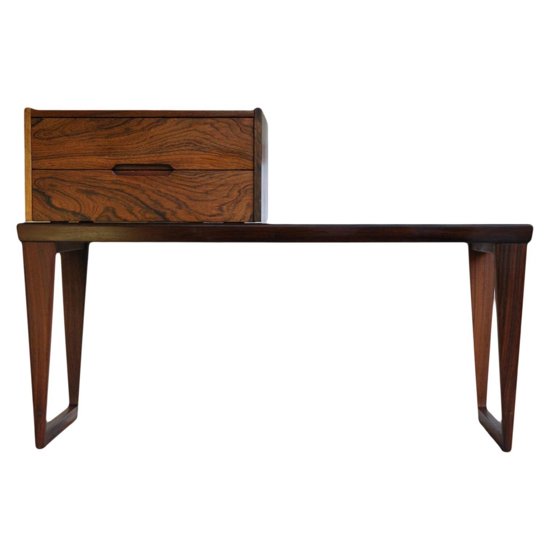 Kai Kristiansen Aksel Kjersgaard rosewood bench drawers and