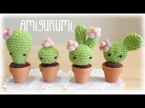 Amigurumi Cactus Tejido A Crochet Regalo Original : Best tutorial images amigurumi patterns crochet