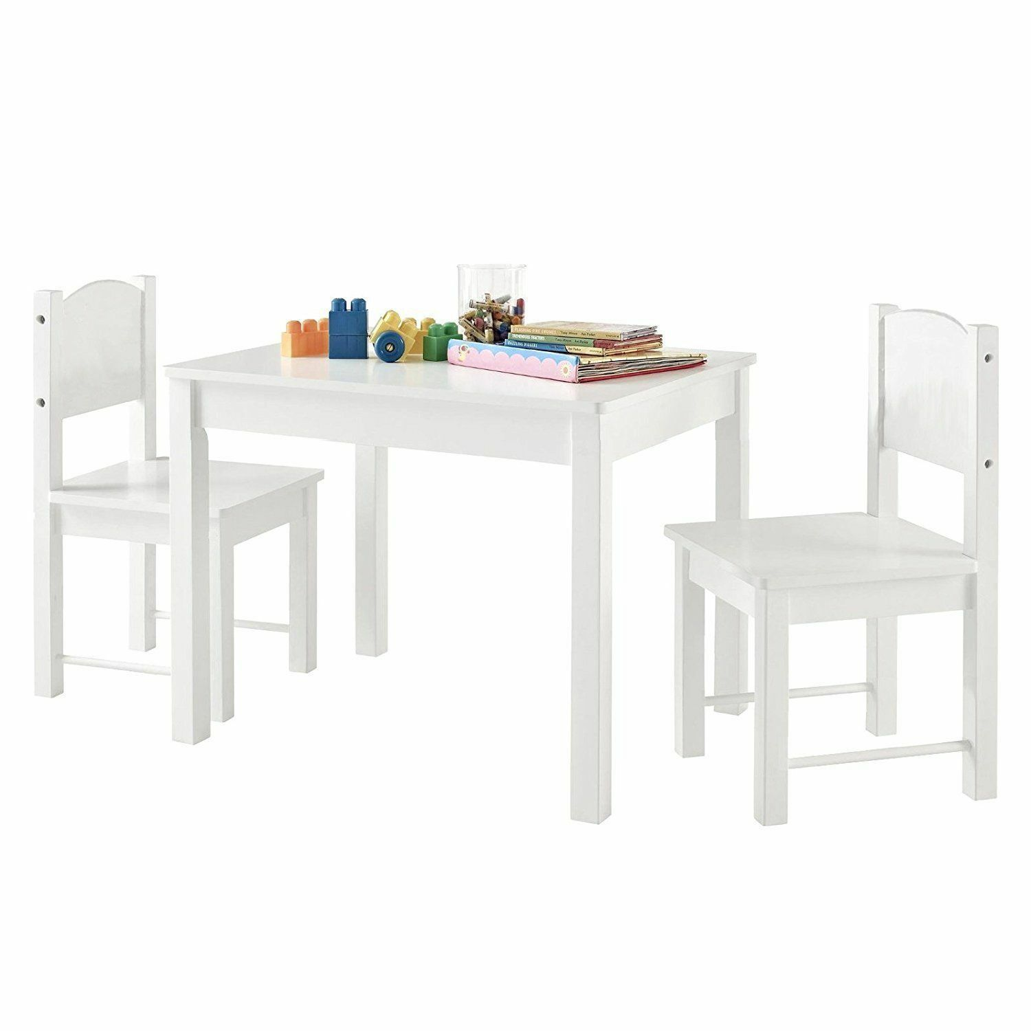 Details About Kids Childrens Table And 2 Chairs Set For Boys Or Girls Best Gift Birthday Xmas Kids Wooden Table Kids Table And Chairs Childrens Table