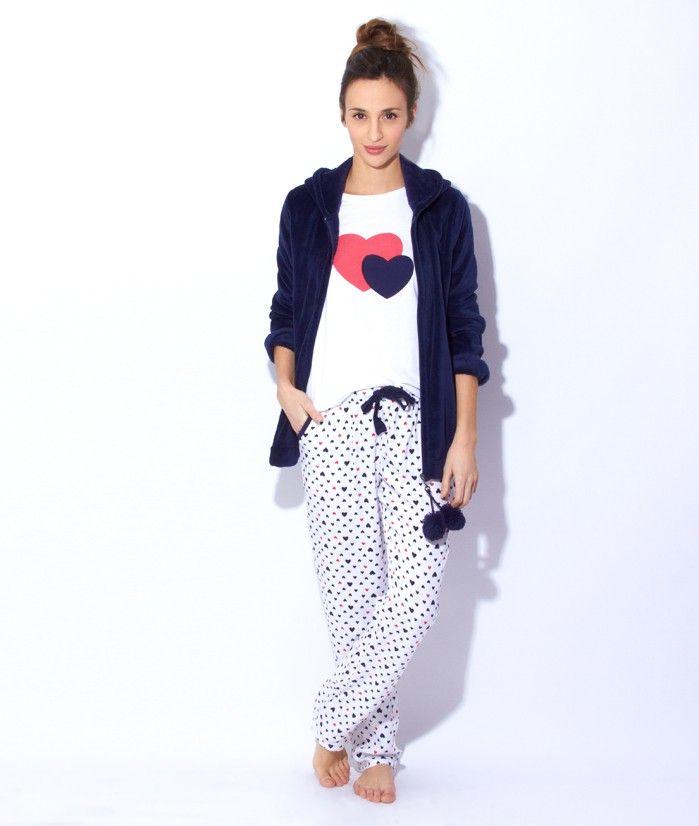 foto de 3 pieces pyjama SAILOR WHITE / BLUE / RED Etam