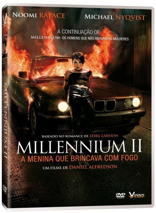 Millennium Ii A Menina Que Brincava Com Fogo A Menina Que
