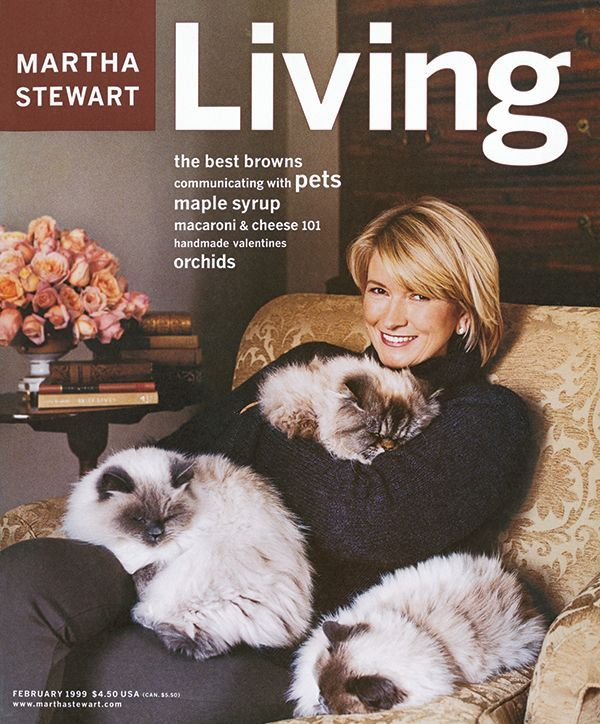 These 90s Martha Stewart Living Covers Are Throwback Gold Cat