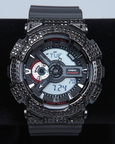 mens g shock by casio x large combi monotone crystal watch men mens g shock by casio wr20bar crystal watch