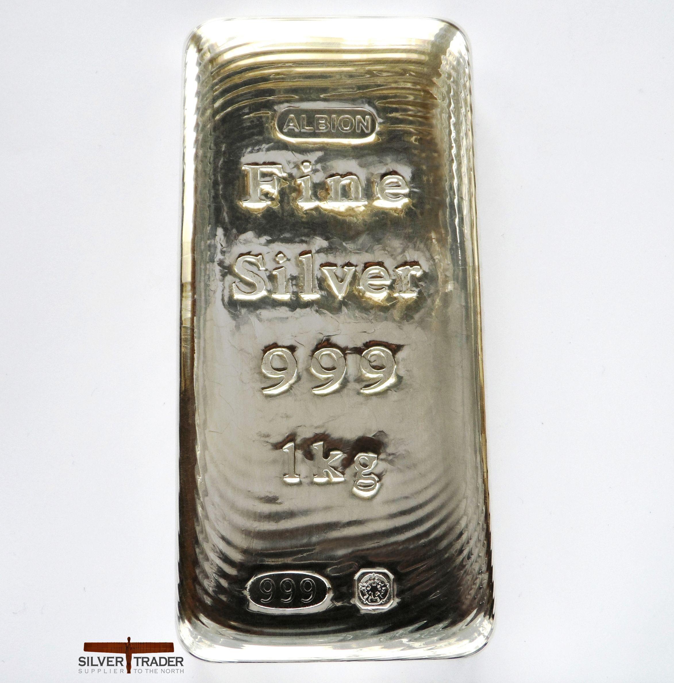 2018 Albion 1 Kilo Sheffield Hallmarked Silver Bullion Bar Gold Bullion Bars Silver Bullion Silver Bullion Coins